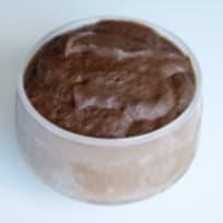Helado de cacao (comida viva)