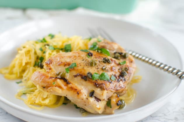 Paleo Chicken Piccata Photo