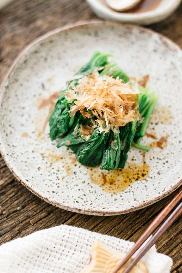 Spinach Ohitashi Image