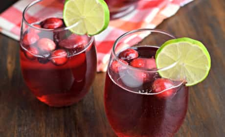 Cranberry Ginger Ale Punch Recipe