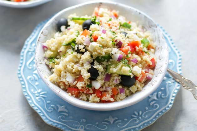 Quinoa Greek Salad Photo