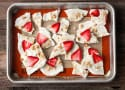 Strawberry Lime Yogurt Bark Recipe