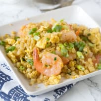 Shrimp Fried Cauliflower Rice Recipe