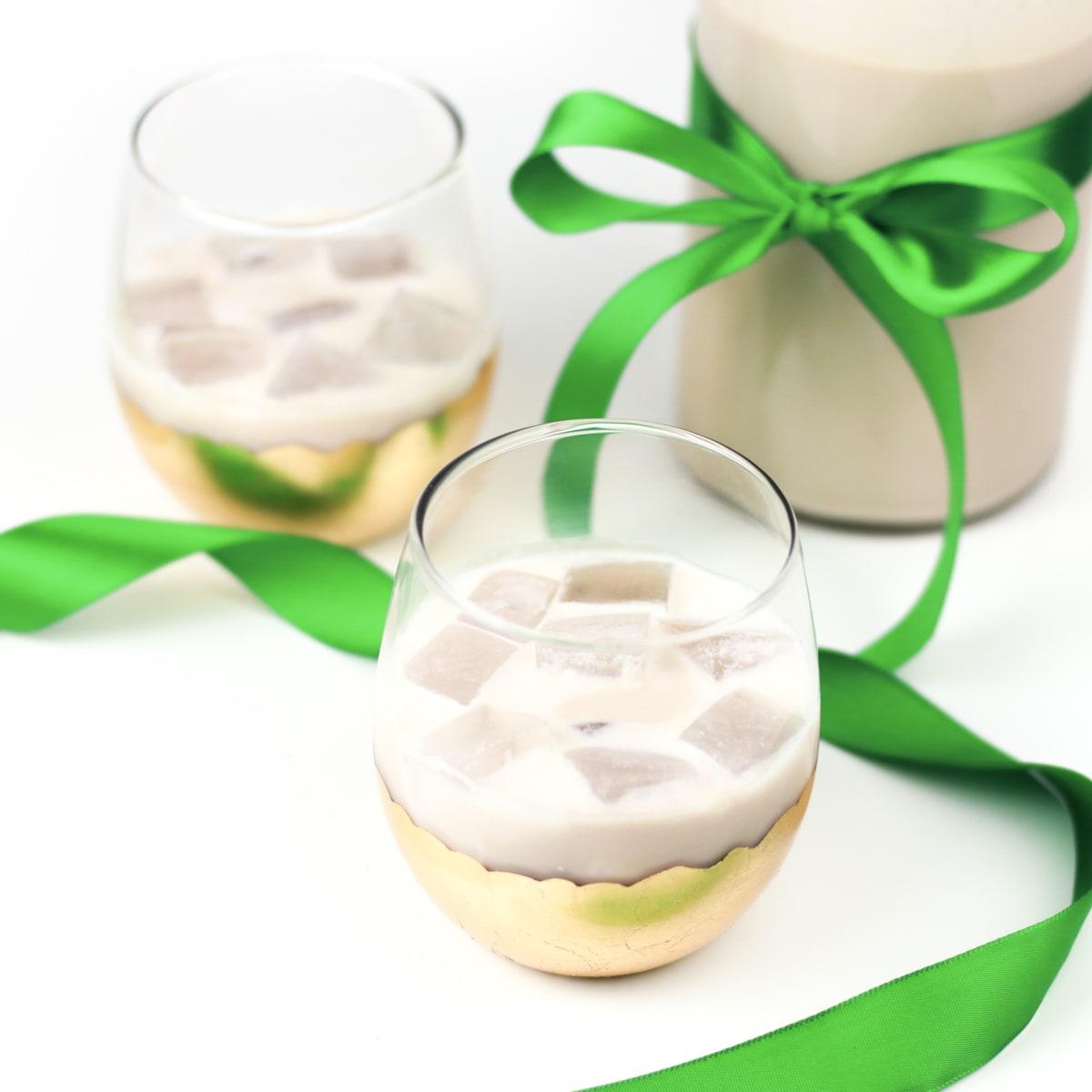 Homemade Irish Cream Liqueur Recipe - Food Fanatic