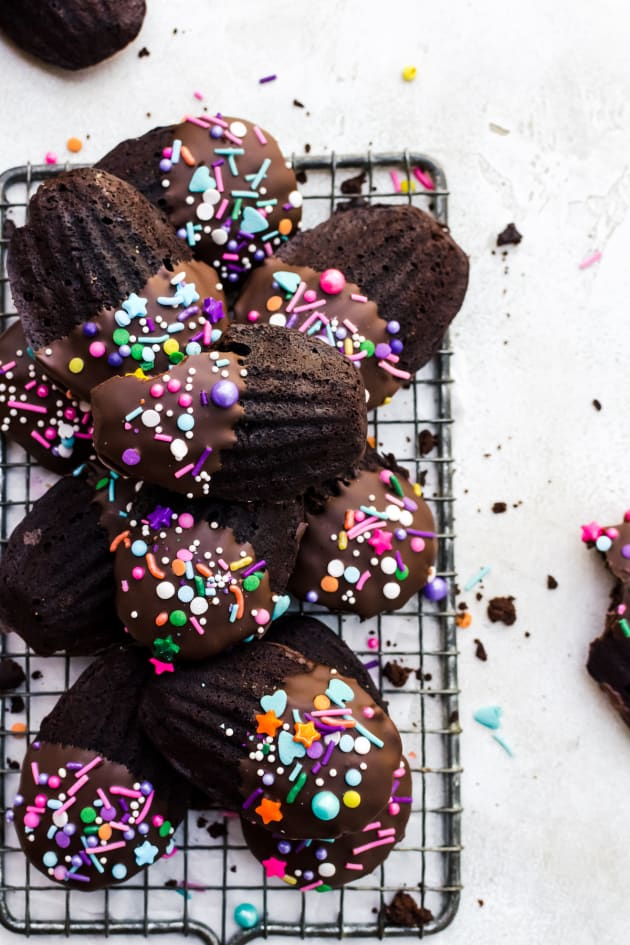 Chocolate Madeleines Pic