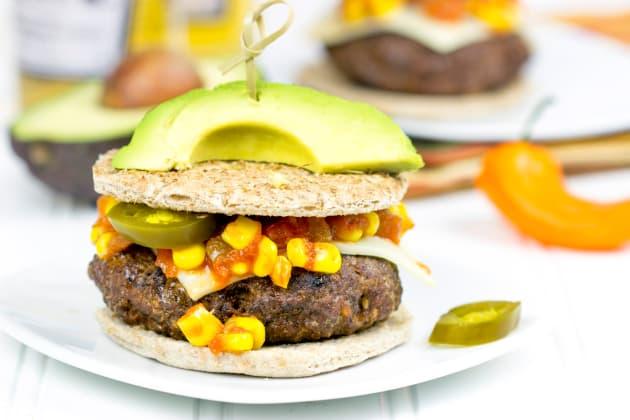 Taco Burger Image