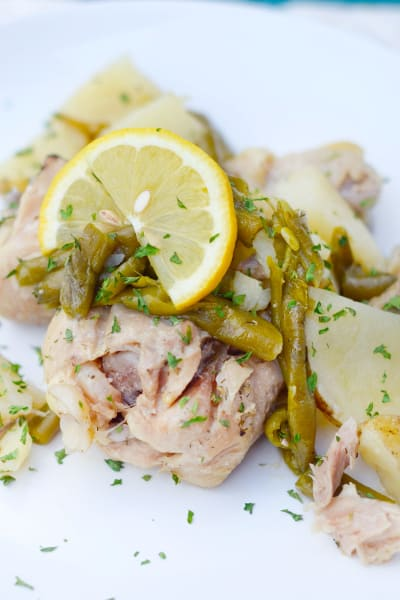 Gluten Free Instant Pot Lemon Pepper Chicken Pic