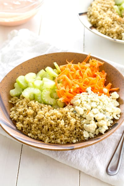Buffalo Chicken Quinoa Salad Image