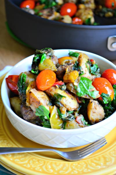 One Pot Italian Sausage Skillet Picture
