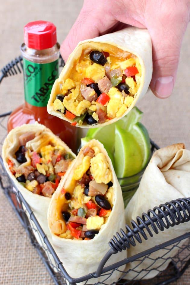 Southwestern Breakfast Burritos Pic