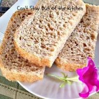 Seven Grain Bread