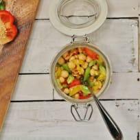 Chickpea Salsa Salad