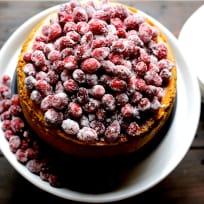 蔓越莓蛋酒奶酪蛋糕配方