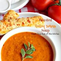 Roasted Italian Tomato Soup