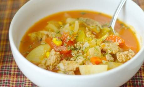 Gluten Free Instant Pot Vegetable Soup Recipe