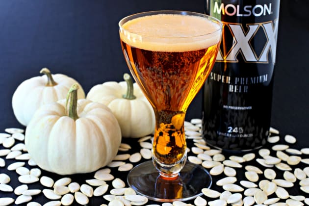 Pumpkin Beer Cocktail Photo