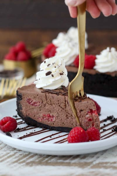 File 1 No-Bake Chocolate Raspberry Cheesecake