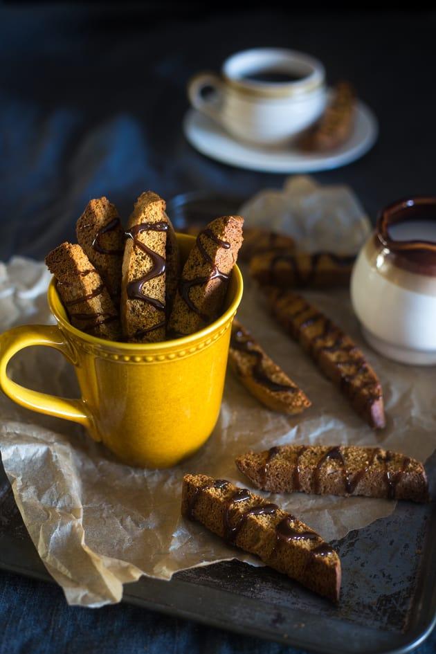 Gluten Free Gingerbread Biscotti Pic