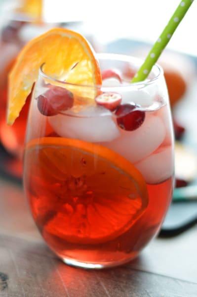 Cranberry Orange Sangria Picture
