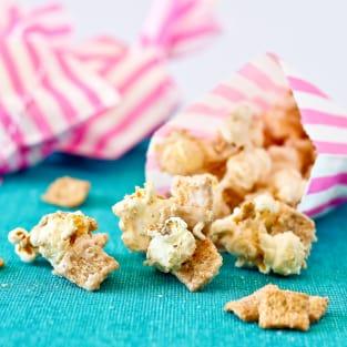 Cinnamon toast crunch popcorn photo