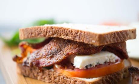 BBQ Blue Cheese BLT Recipe