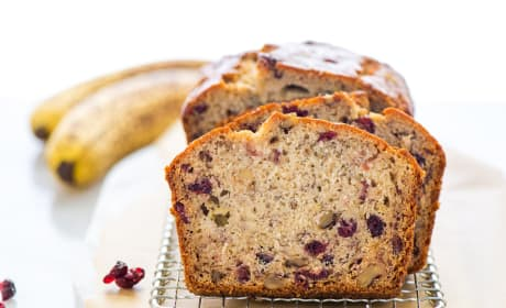 Gluten Free Cranberry Banana Bread Photo