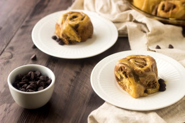 Whole Wheat Cinnamon Rolls Photo