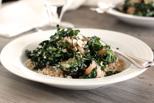 Kale Barley Salad Photo