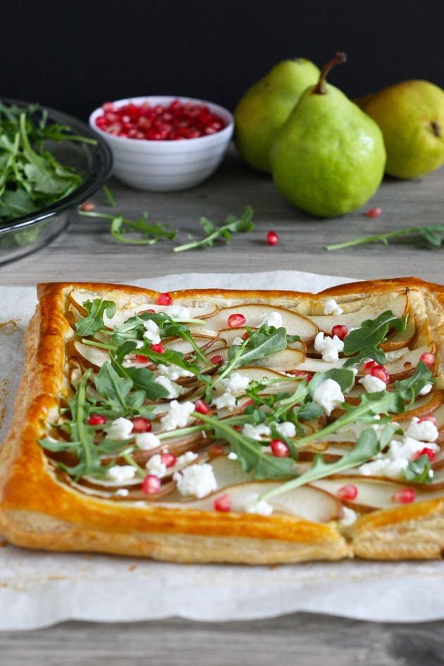 Pear and Goat Cheese Tart Pic