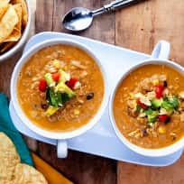 Blender Tortilla Soup Recipe