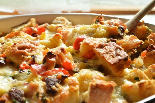 Vegetable Strata Pic