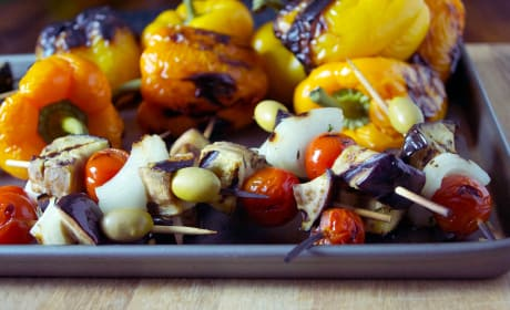 Caponata on a Stick Recipe