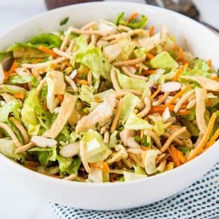 Chinese chicken salad photo
