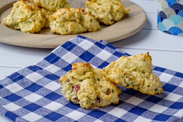Bacon Chive Biscuits Photo