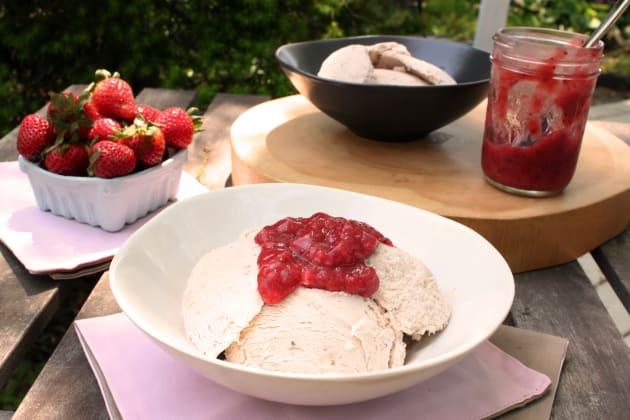 Strawberry Gelato Photo