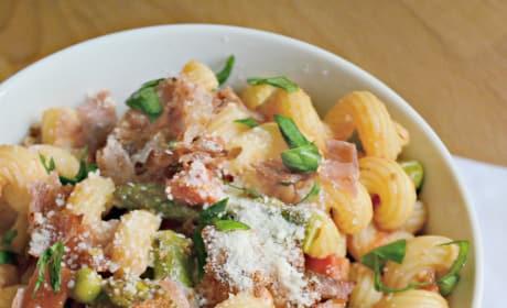 Asparagus Prosciutto Pasta Picture