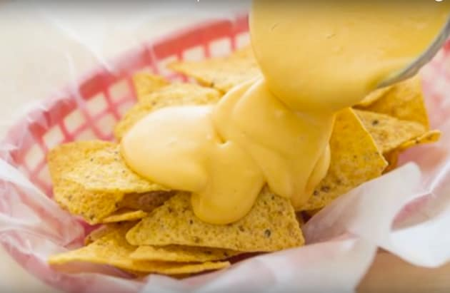 Homemade Nacho Cheese Dip