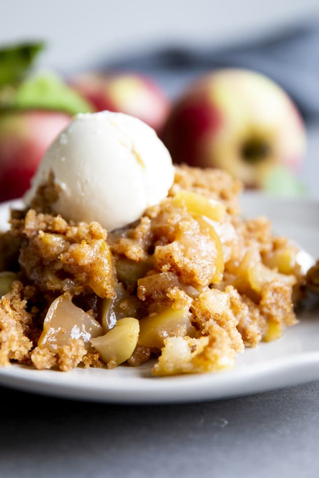 Crockpot Apple Cobbler Picture