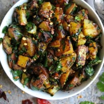 Potato Salad with Moringa Leaves Recipe