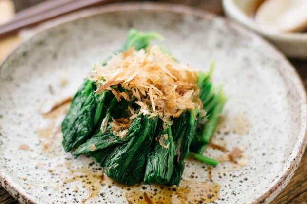 Spinach Ohitashi Photo