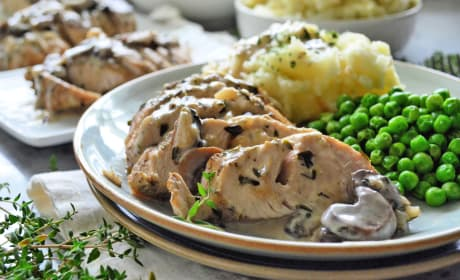 Instant Pot Turkey Tenderloin with Mushroom Gravy Recipe