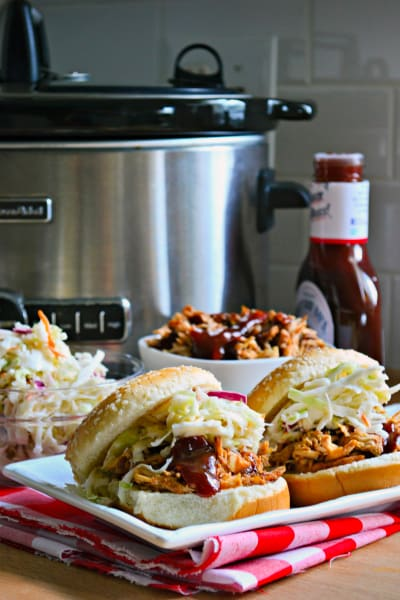 Slow Cooker BBQ Chicken Sandwiches Pic