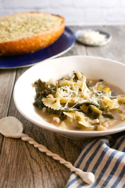 White Bean and Kale Soup Picture