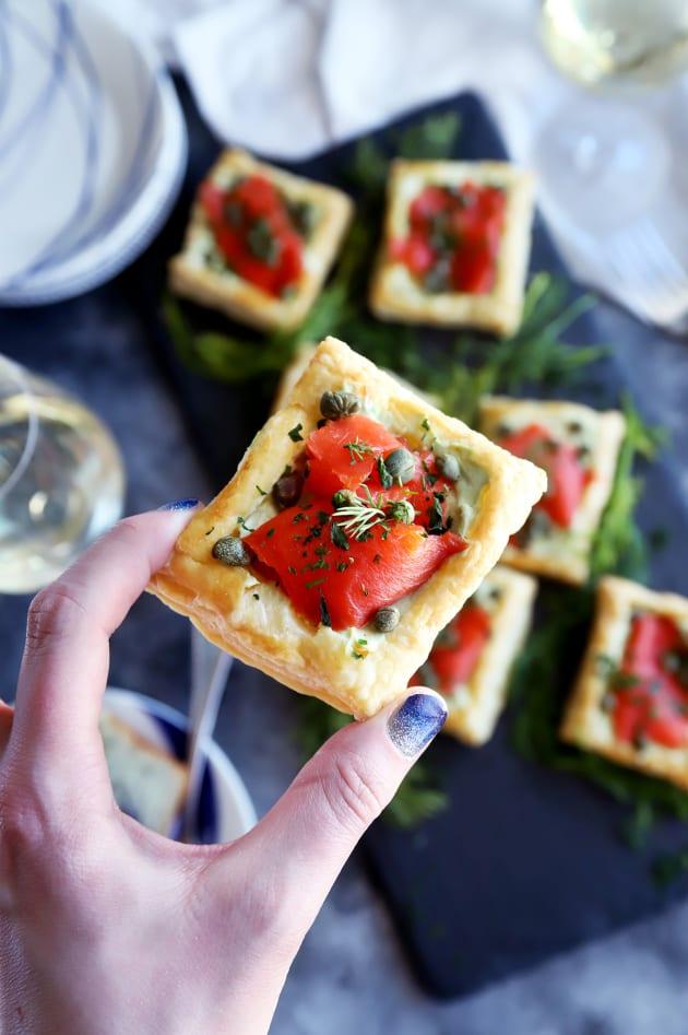 Smoked Salmon Avocado Cream Cheese Pastries Pic