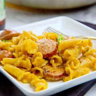 One pot cajun pasta photo