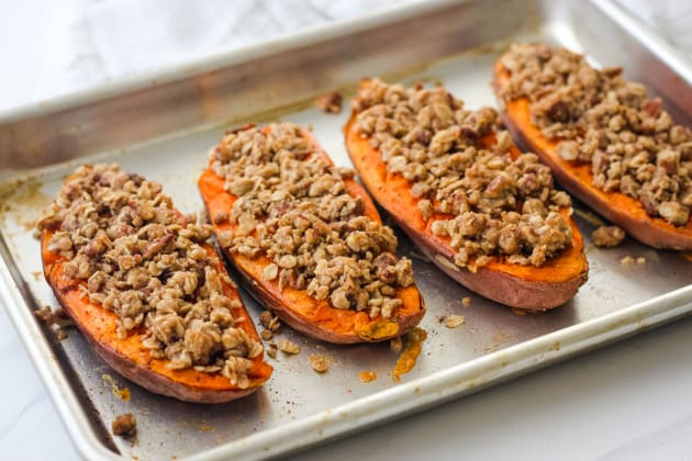 Streusel Topped Sweet Potatoes Photo