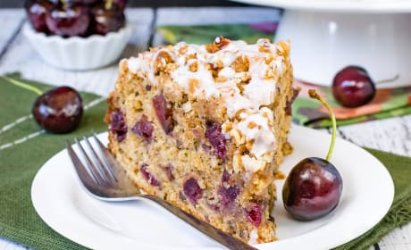 Cherry Zucchini Coffee Cake Photo