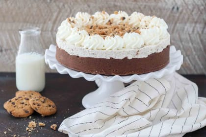 Chocolate Chip Mousse Cake