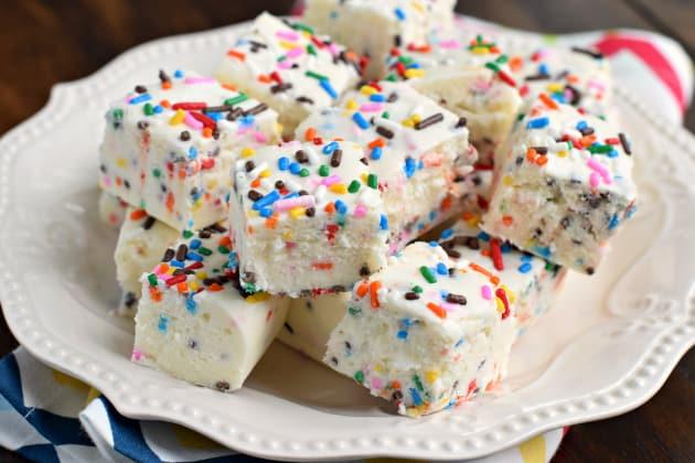 Cake Batter Fudge Photo