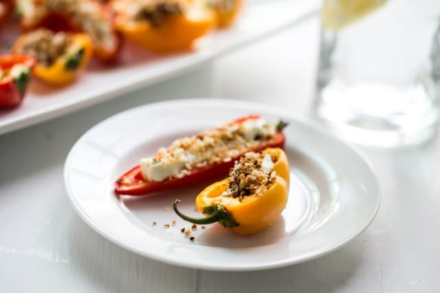 Stuffed Mini Peppers Recipe